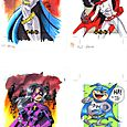 4 Batgirl Huntress Bat Mite