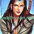 Arwen Sketch Card