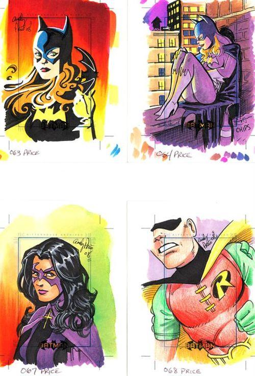 2 Batgirl Huntress Robin