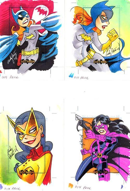 3 Batgirl Batwoman Huntress
