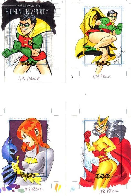 3 Robin Batgirl Batwoman