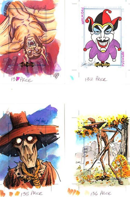 8 man bat Joker Scarecrow