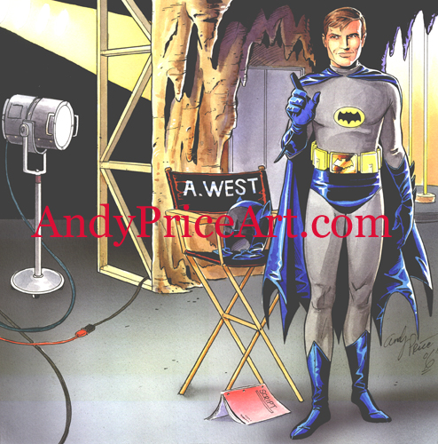 Adam West Model Kit Cover